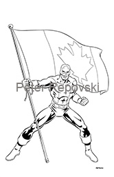 Peter Repovski - Captain Canuck