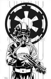 Peter Repovski - Imperial Tie Fighter Pilot
